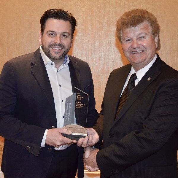 Congratulation to Stephen Coote, CCA Trade Contractor of the Year